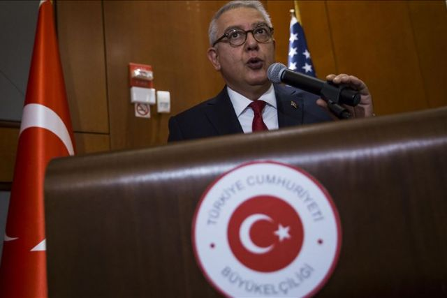 Turkey envoy slams US senators for Uyghurs comments