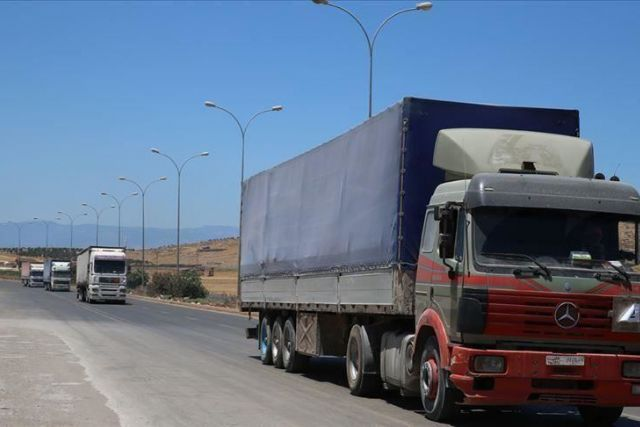 UN sends over 100 truckloads of aid to Idlib, Syria